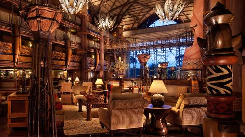Disney's Animal Kingdom Lodge - 博伟湖 - 大厅