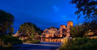 迪士尼动物王国小屋 - 博伟湖 - 建筑