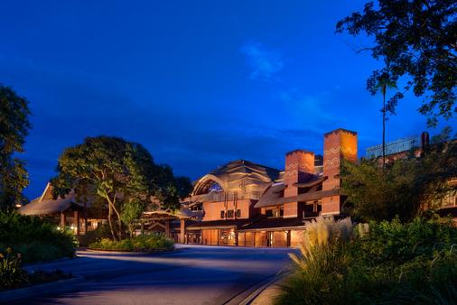 Disney's Animal Kingdom Lodge - 博伟湖 - 建筑