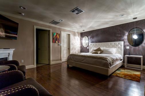 利特伊乐园酒店 - 棕榈泉 - 睡房