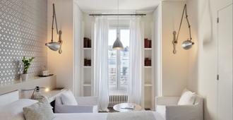班维勒酒店 - 巴黎 - 睡房