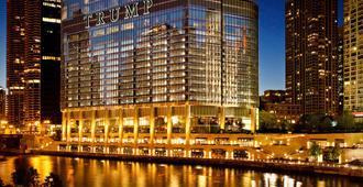 芝加哥特朗普国际大厦酒店 - 芝加哥 - 建筑
