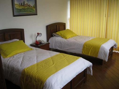 斯堪的纳维亚角酒店 - 基多 - 睡房
