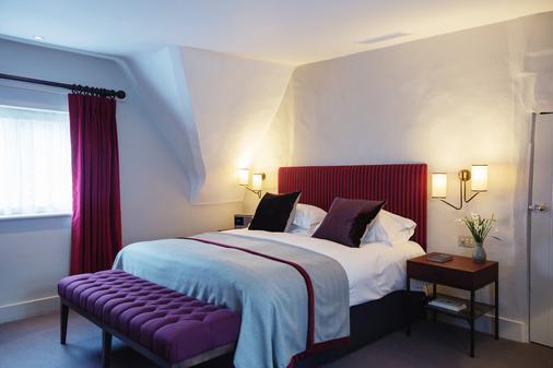 老牧师住宅酒店 - 牛津 - 睡房