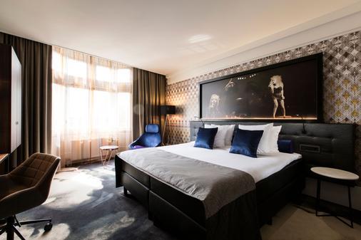 阿姆斯特丹美利坚罕布什尔酒店 - 阿姆斯特丹 - 睡房