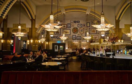阿姆斯特丹美利坚罕布什尔酒店 - 阿姆斯特丹 - 酒吧