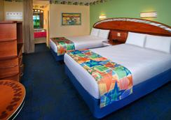 Disney's All-Star Sports Resort - 博伟湖 - 睡房