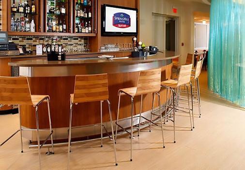 休斯顿洲际机场春季山丘套房酒店 - 休斯顿 - 酒吧