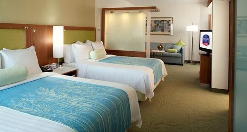 休斯顿洲际机场春季山丘套房酒店 - 休斯顿 - 睡房