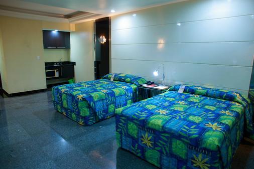 达芬奇会议酒店 - 马瑙斯 - 睡房