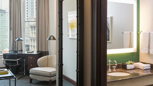 伯纳姆金普敦酒店 - 芝加哥 - 浴室