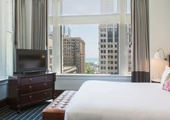 伯纳姆金普敦酒店 - 芝加哥 - 睡房