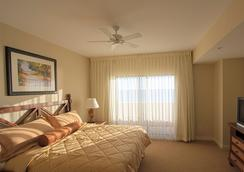海洋天堂珊瑚礁海滩度假酒店 - 巴拿马城海滩 - 睡房