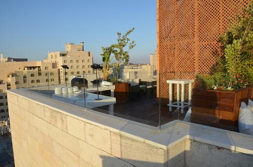 普瑞玛罗亚尔绸酒店 - 耶路撒冷 - 露台