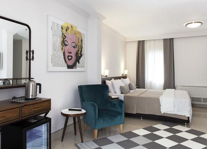 20号海滨酒店 - 仅限成人 - 博德鲁姆 - 睡房