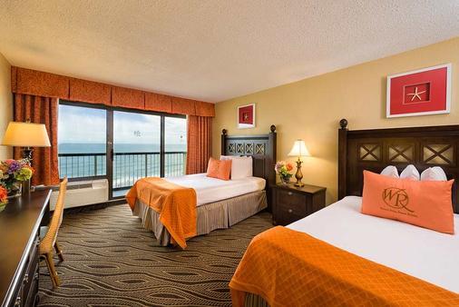 梅龙镇美特尔海滨度假酒店 - 默特尔比奇 - 睡房