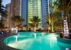 Ja绿洲海滩大厦公寓 - 迪拜 - 游泳池