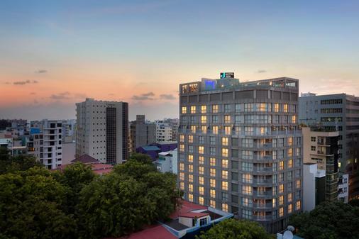 马尔代夫马累仁民酒店 - 马列 - 建筑