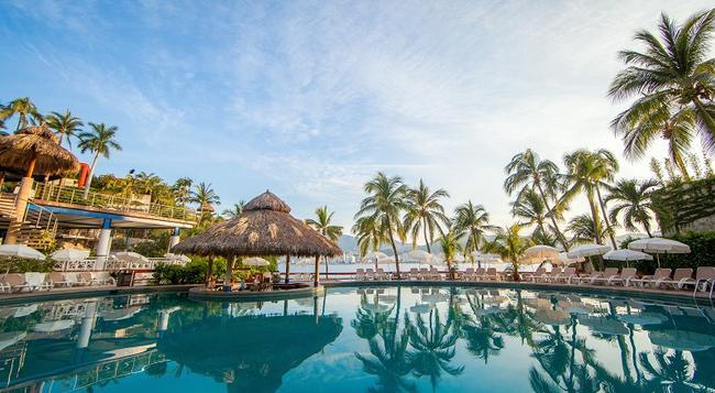 皇家公园阿卡普尔科全包家庭海滩度假酒店 - 阿卡普尔科 - 游泳池