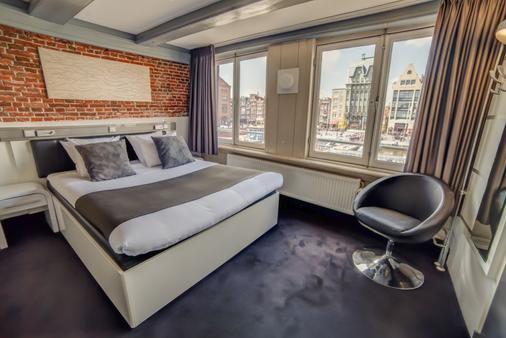 阿姆斯特丹cc酒店 - 阿姆斯特丹 - 睡房