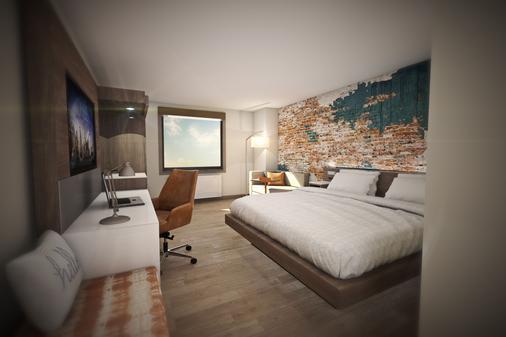 杜伦坎布利亚酒店 - 杜克大学附近 - 达拉姆 - 睡房