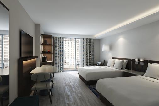 迈阿密布里克威尔凯悦 Hyatt Centric 酒店 - 迈阿密 - 睡房