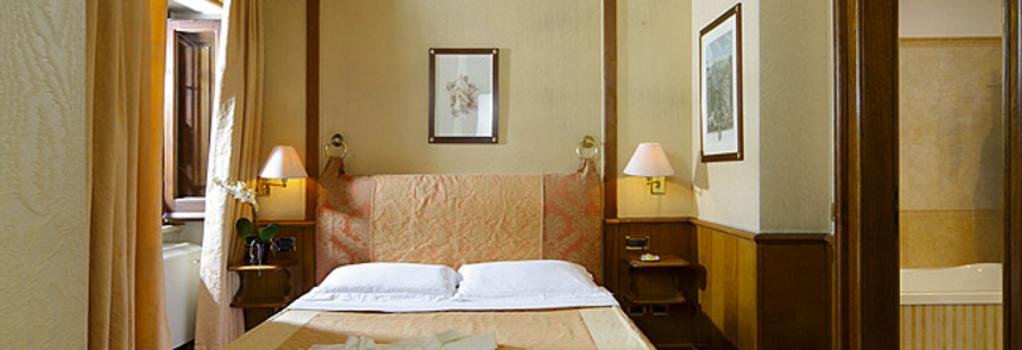 万神殿酒店 - 罗马 - 睡房