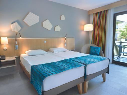 图伊布鲁棕榈园酒店 - 式 - Manavgat - 睡房