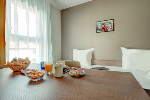 城市公寓里昂迪尔维莱特酒店 - 里昂 - 餐厅