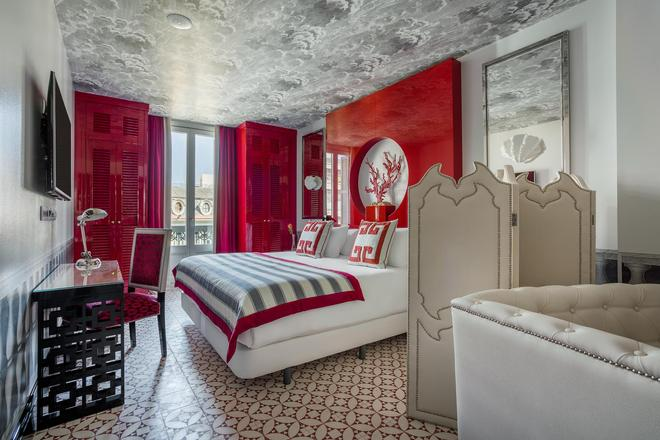 安娜室友酒店 - 巴塞罗那 - 睡房