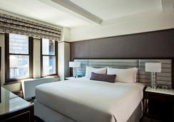 中央公园酒店 - 纽约 - 睡房