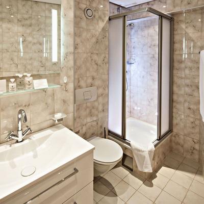 普费福克恩斯酒店 - 莱赫阿尔贝格 - 浴室