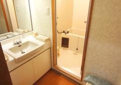 藏王温泉堺屋森之酒店Wald Berg - 山形市 - 浴室