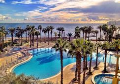 马耳他希尔顿酒店 - 圣朱利安斯 - 游泳池