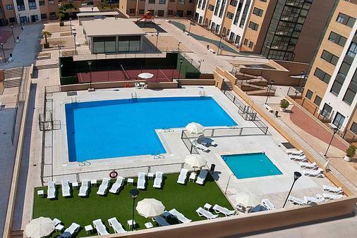 孔波斯特拉套房酒店 - 马德里 - 户外景观