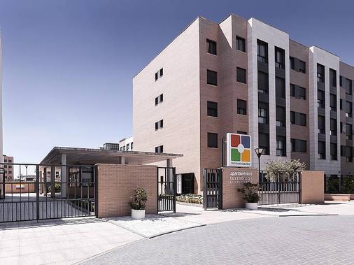 孔波斯特拉套房酒店 - 马德里 - 建筑