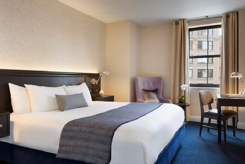 特里贝卡大都会酒店 - 纽约 - 睡房