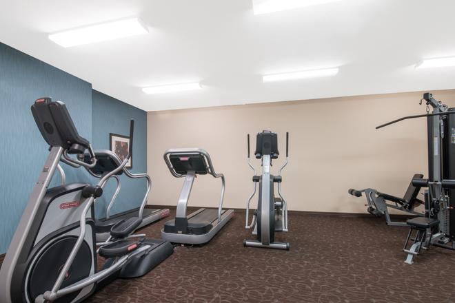 温德姆威利斯顿豪顿套房酒店 - 威利斯顿 - 健身房
