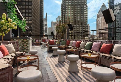 梦幻市区酒店 - 纽约 - 阳台