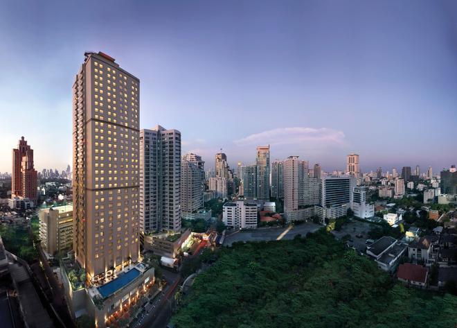 曼谷苏克哈姆维特公园万豪行政公寓 - 曼谷 - 建筑