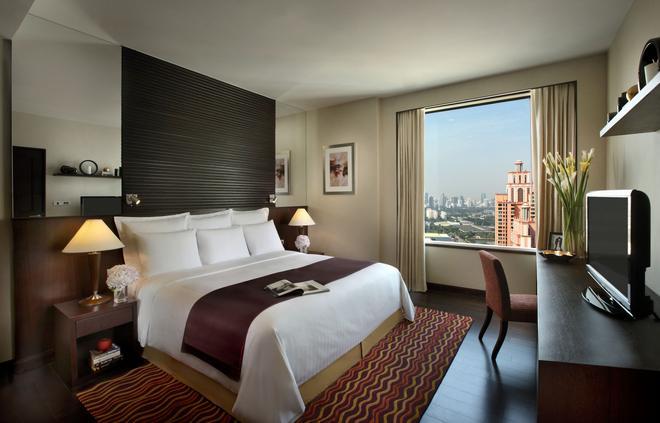 曼谷苏克哈姆维特公园万豪行政公寓 - 曼谷 - 睡房