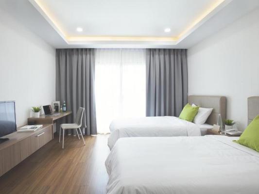 曼谷布恩广场酒店 - 曼谷 - 睡房