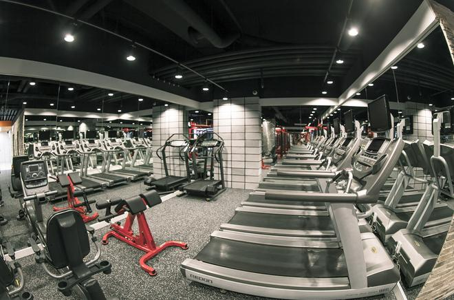 仁川航空舒适酒店 - 仁川 - 健身房