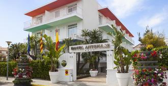 宜博索安特玛瑞酒店 - 仅限成人 - - 锡切斯 - 建筑