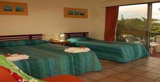 纳迪湾酒店 - 南迪 - 睡房