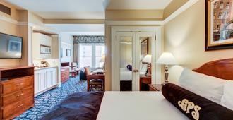 瓦斯灯广场套房酒店 - 圣地亚哥 - 睡房