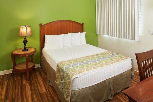 太平洋码头酒店 - 檀香山 - 睡房