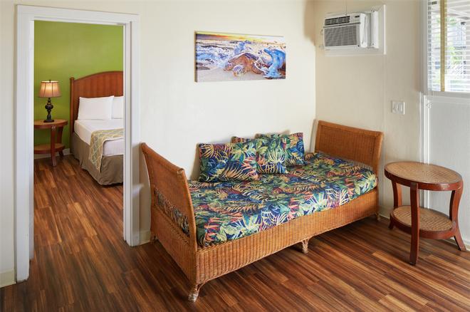 太平洋码头酒店 - 檀香山 - 客厅