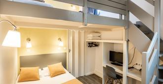 莫朗庭院英特酒店 - 里昂 - 睡房