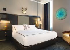 金普顿卡迪纳尔酒店 - 温斯顿-赛伦 - 睡房